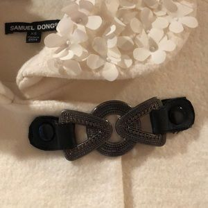 Samuel Dong Jackets & Coats - Samuel Dong winter white blazer!